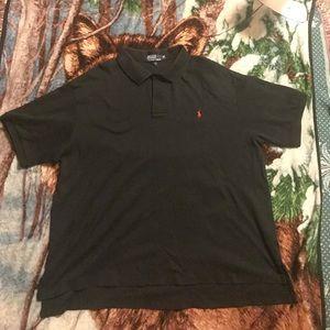 Black polo shirt 2xB